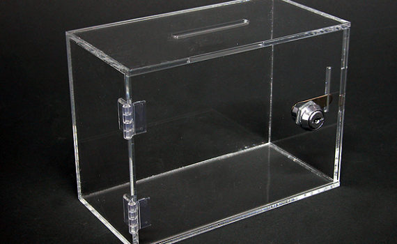 باکس پلکسی،جعبه پاستیل پلکسی گلاس،صندوق رای گیری پلکسی،صندوق صدقات پلکسی